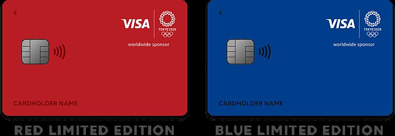 Visa LINE Payカード(東京2020オリンピック・パラリンピック記念デザイン)