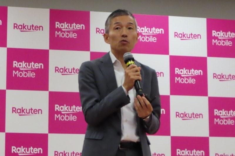 楽天モバイル 代表取締役社長 山田善久氏