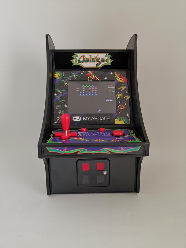 昔から憧れだったギャラガのゲームセンタースタイルを買った