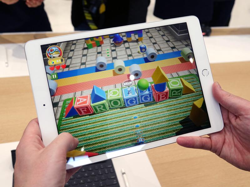 Apple Arcadeで配信されるゲームも、滑らかに動いていた