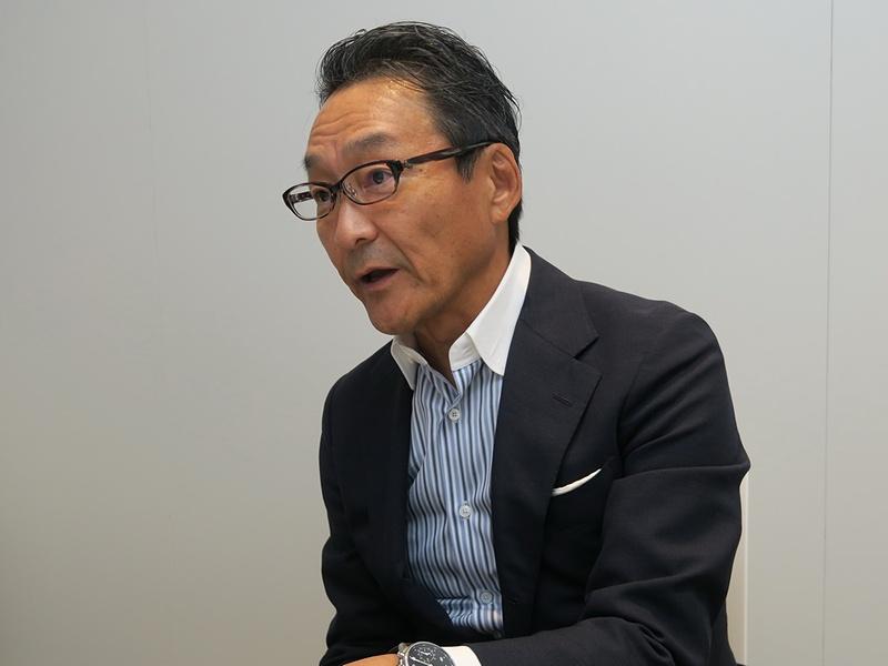 「好きを極めた人に寄り添うXperiaをお届けしたい」と岸田氏