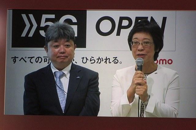 左からJR西日本 執行役員 金沢支社長 前田洋明氏、ドコモ 執行役員 北陸支社長 川﨑博子氏