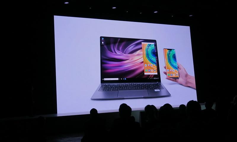 Windowsのデスクトップ上に端末の画面を表示する「HUAWEI Share」を強化