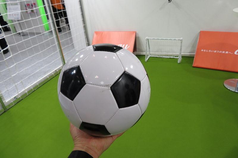 センサー内蔵のサッカーボール
