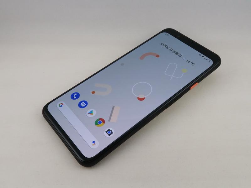 Google「Pixel 4 XL」、約160.1mm(高さ)×75.7mm(幅)×8.2mm(厚さ)、約193g(重量)、Just Black、Clearly White(写真)、Oh So Orangeをラインアップ