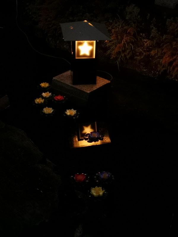 長谷寺内にあった灯籠