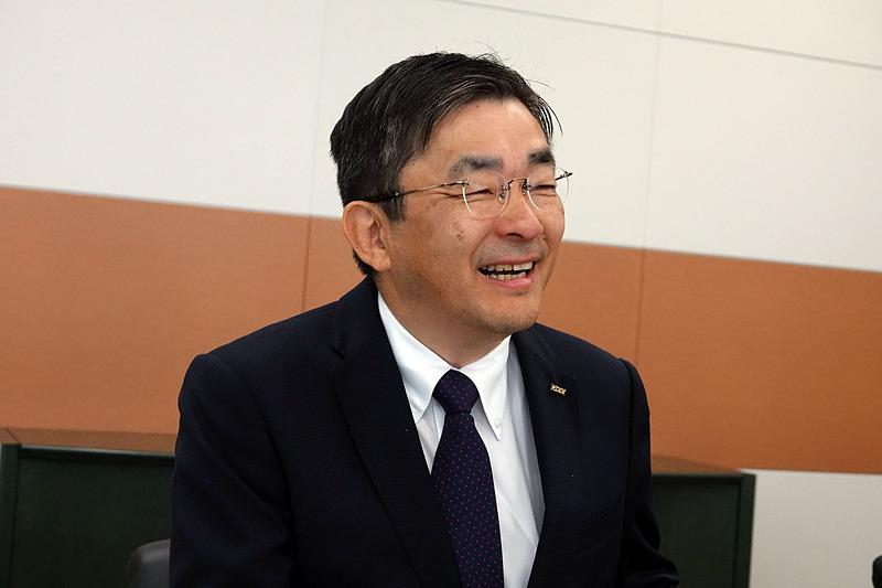 KDDI 代表取締役社長 高橋誠氏(2019年5月撮影)