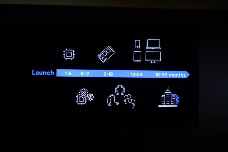 LEオーディオ対応製品登場まではチップセット対応、ファームウェア対応、モジュール対応と段階を踏んで行く