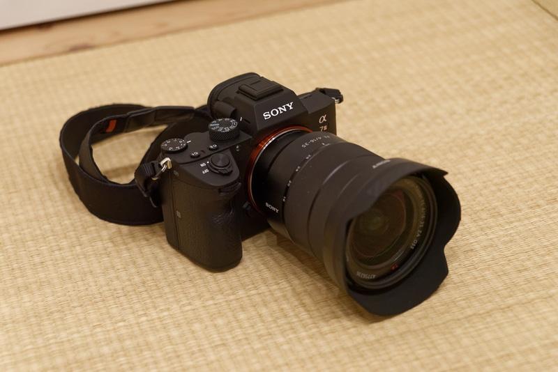 新たに購入したα7 III