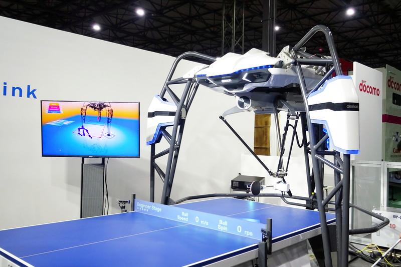 卓球コーチングロボット「フォルフェウス」