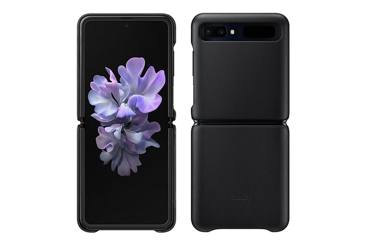 Galaxy Z Flip Leather Cover(EF-VF700LBEGJP)