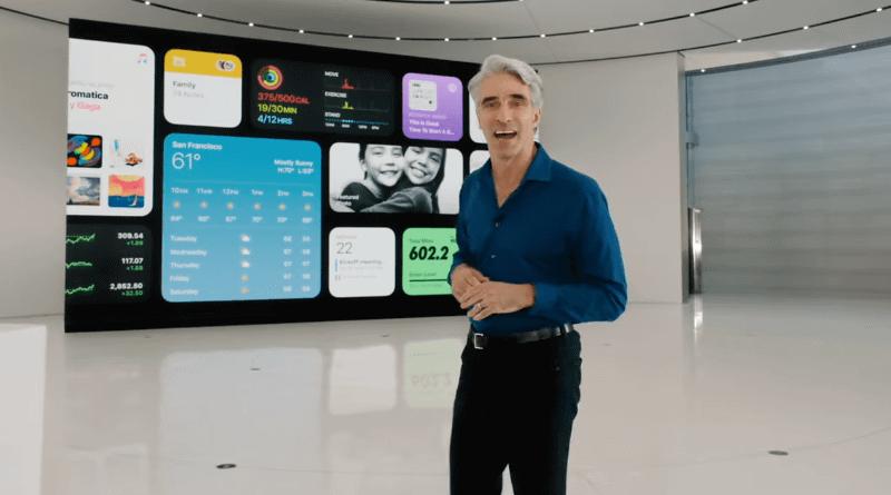 アップル ソフトウェエンジニアリング シニアバイスプレジデント</br>クレイグ・フェデリギ氏