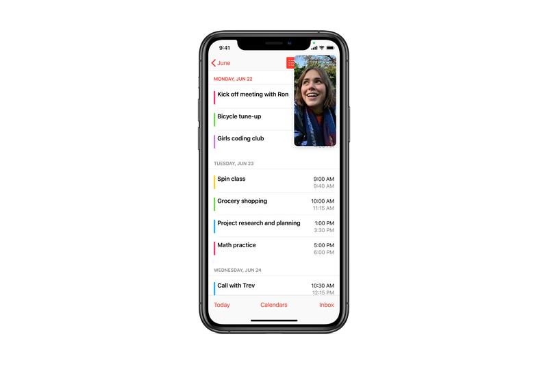 FaceTime通話は相手の画面を表示した状態で通話を継続できるように
