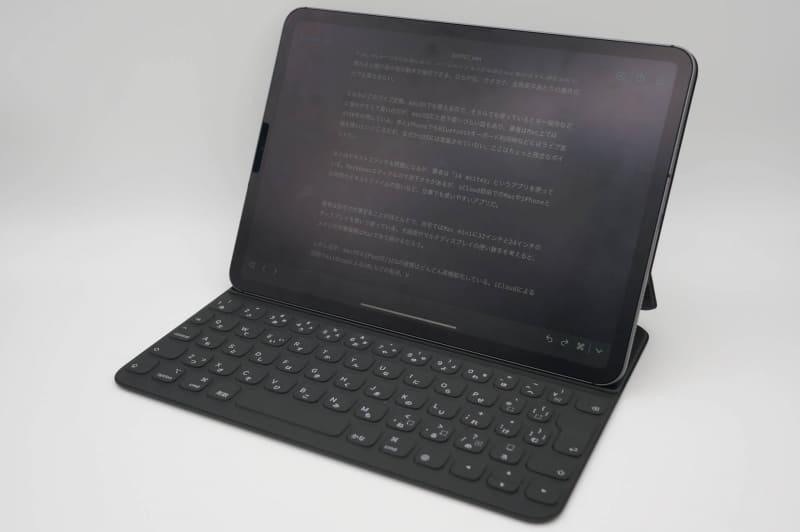 11インチiPad ProとSmart Keyboard Folio