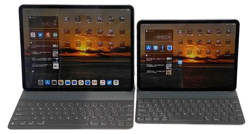 外出先でちょっとした仕事を片付ける場合、iPad Proを使うことが多い。必要に応じてキーボード付きカバー「Smart Keyboard Folio」を併用。短い原稿を書くとか、原稿の部分修正を行うとか、校正をチェックするとか、あるいはメールなどで連絡する程度なら、iPadだけで済んでしまう。……最近ノートPCの出番が減ってるかも〜。