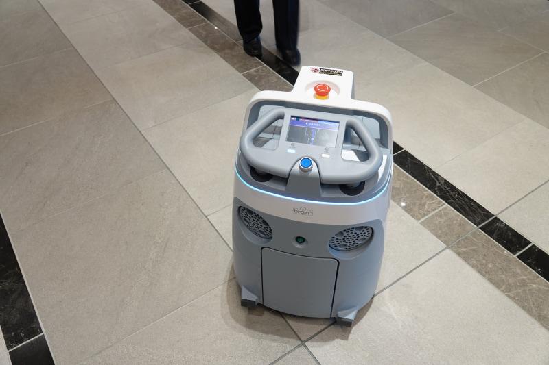 自動掃除ロボ「Whiz」
