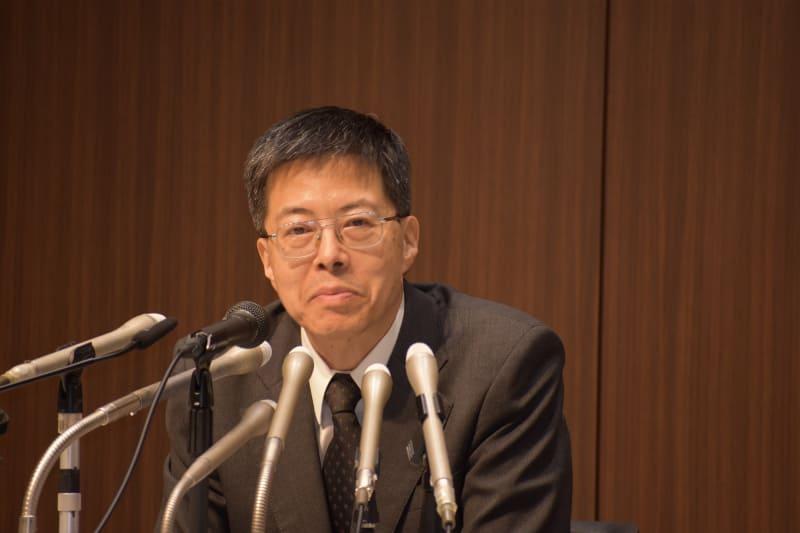 取締役兼代表執行役副社長の田中 進氏