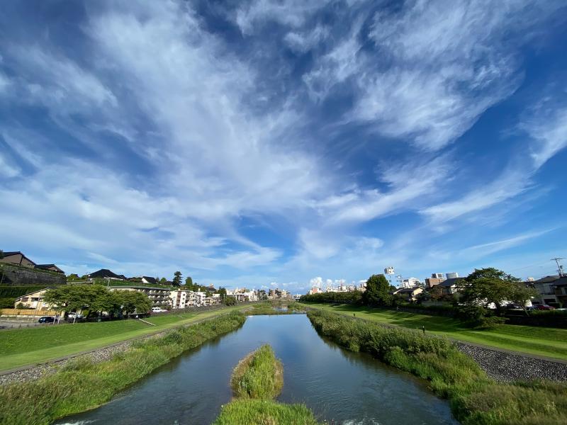 犀川からの眺め