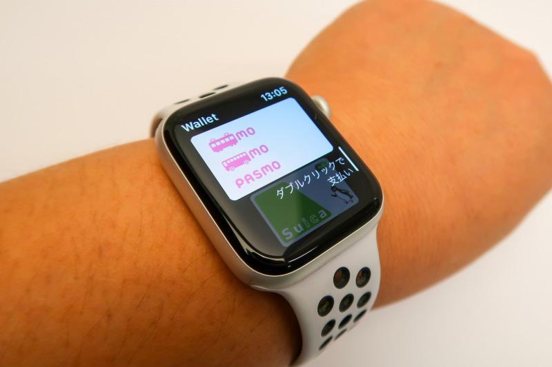 Apple WatchでPASMOが使えるようになりました。カードの登録はiPhoneのWatchアプリの「WalletとApple Pay」からできます