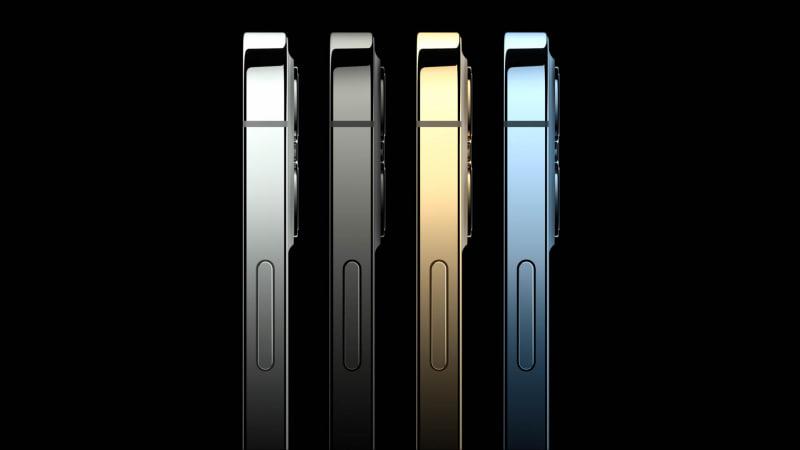iPhone 12 Pro/12 Pro Maxのカラーバリエーション