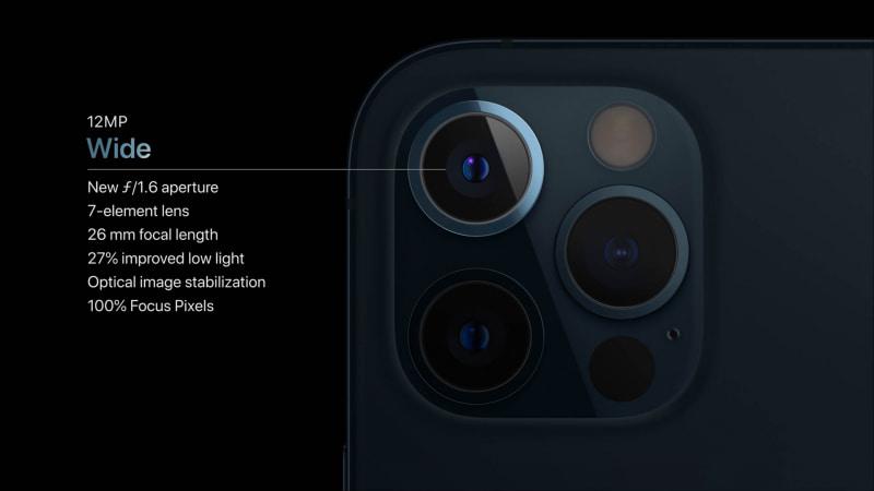iPhone 12 Proの広角カメラ