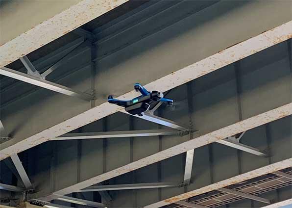 Skydio 2による構造物点検
