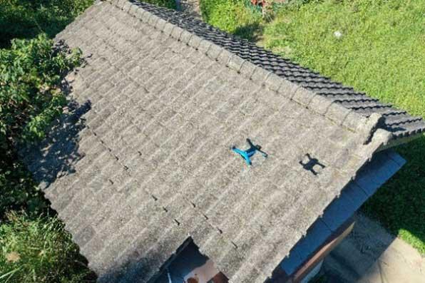 Skydio2による屋根点検