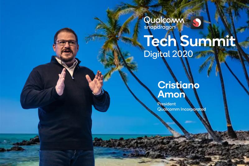 2日(日本時間)、Snapdragon Tech Summitに登場したクリスティアーノ・アモン氏