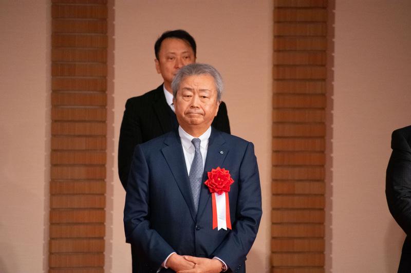会場には、NTT(持株)代表取締役社長の澤田 純氏の姿も
