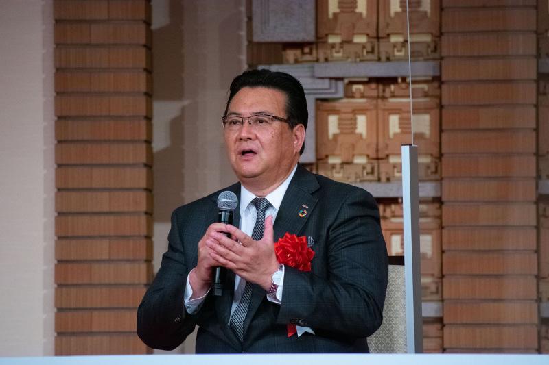 NTTドコモ代表取締役社長 井伊 基之氏