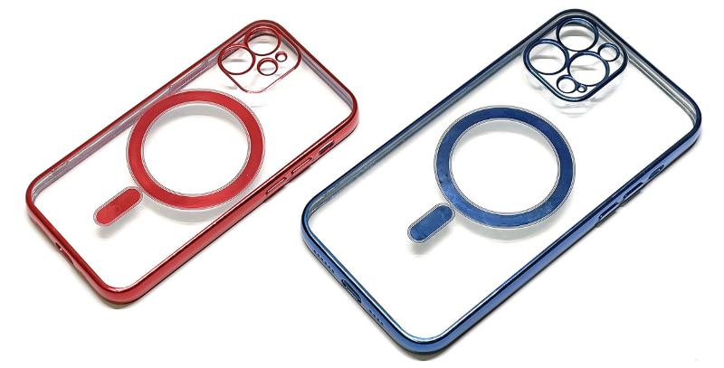 MagSafe対応iPhoneケースの一種。ケース背面にMagSafeに準じた磁石が埋め込まれているので、ケース装着時でもMagSafe充電器やアクセサリーをしっかり吸着する