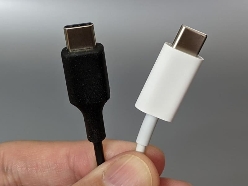 コネクタはどちらもUSB Type-Cを採用する
