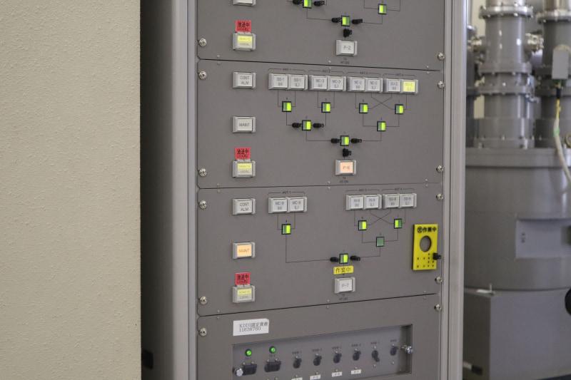 点検中のアンテナには信号を送らないように掲示