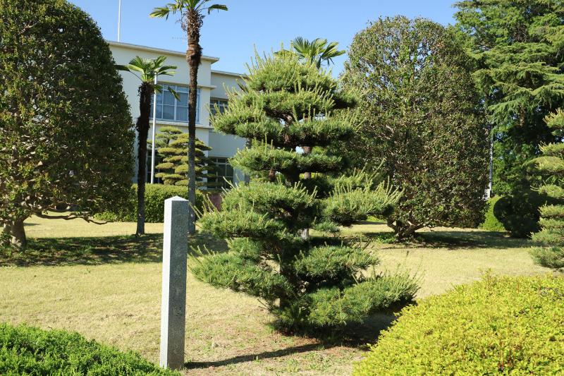 三笠宮殿下の植樹