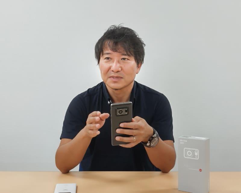 通信事業本部 パーソナル通信事業部 商品企画部 係長 小野直樹氏