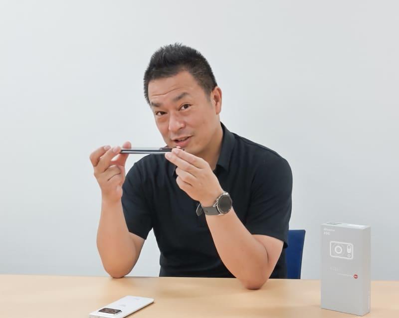 通信事業本部 パーソナル通信事業部 システム開発部 部長 前田健次氏