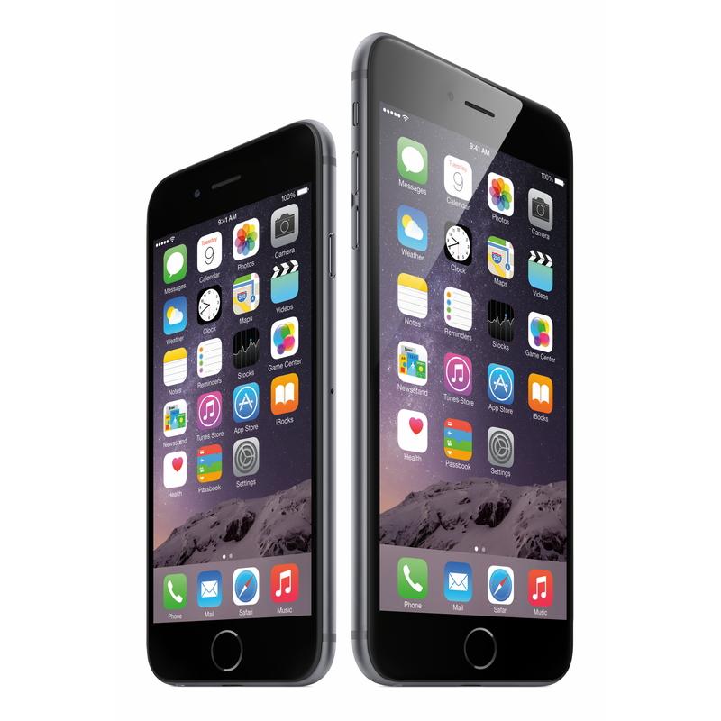 iPhone 6とiPhone 6 Plus