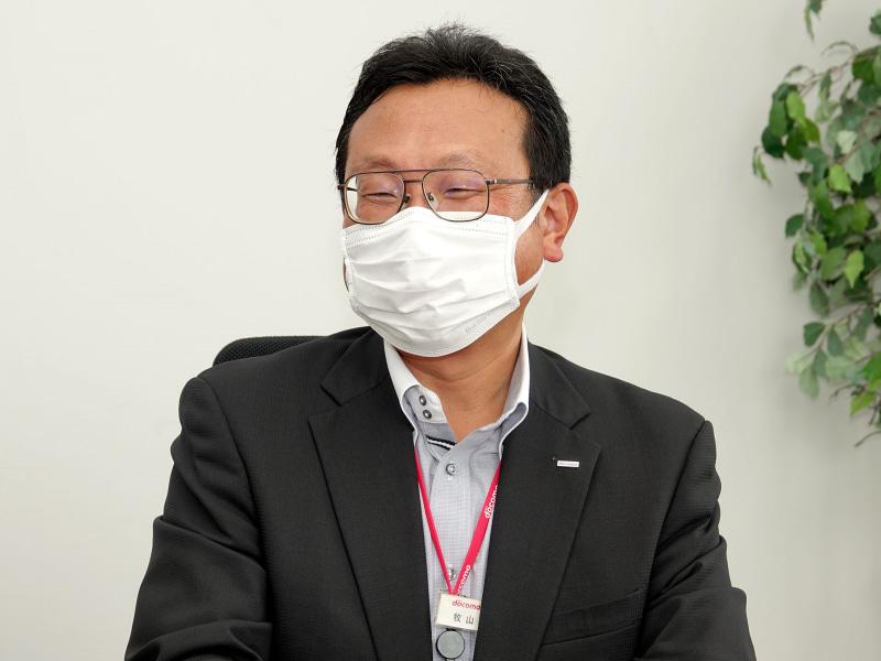エリア品質部門 担当部長の牧山 隆宏氏