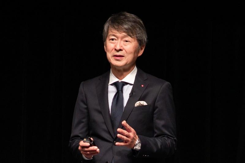 ライカカメラジャパン代表取締役社長の福家 一哲氏
