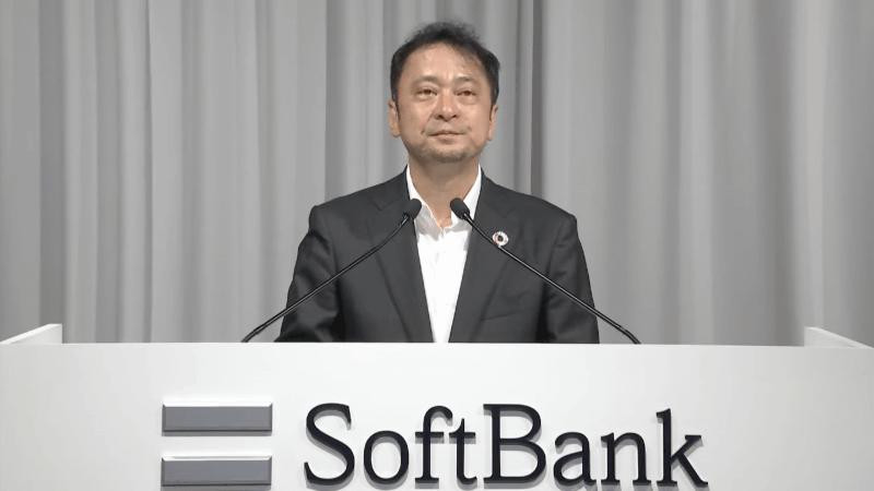 ソフトバンク 代表取締役 社長執行役員 兼 CEOの宮川潤一氏