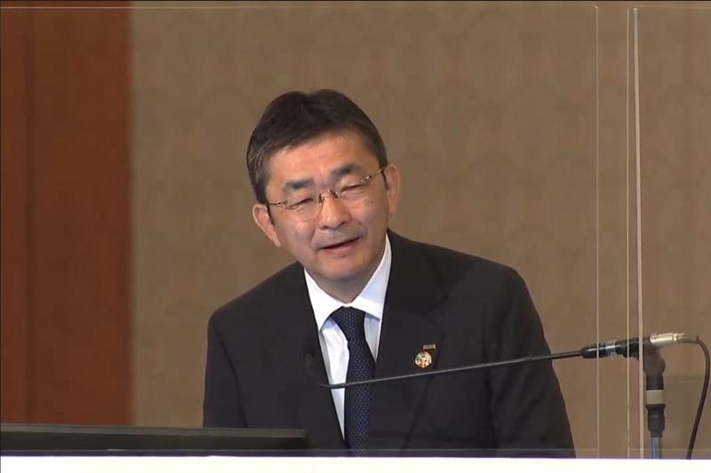 KDDI代表取締役社長高橋 誠氏