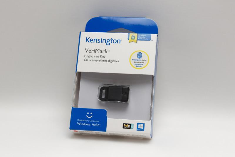 ケンジントン「VeriMark 指紋認証キー」
