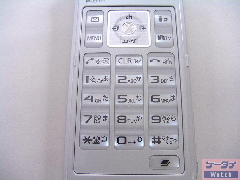 コマンドナビゲーションボタン、各種ボタン部(ノーマルオープン時)