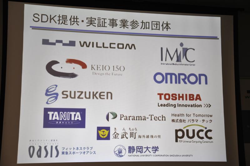 SDK提供の参加メンバー