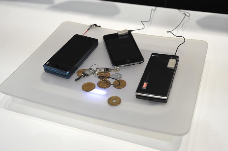 非接触の充電「eZONE」の利用イメージ