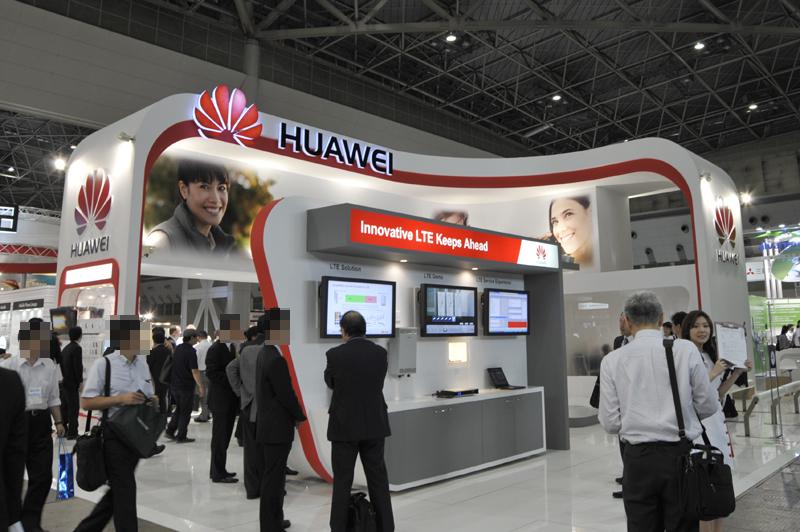 Huaweiのブース