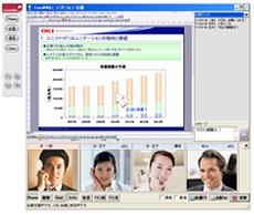 音声通話ソフト「Com@WILLソフトフォン」画面