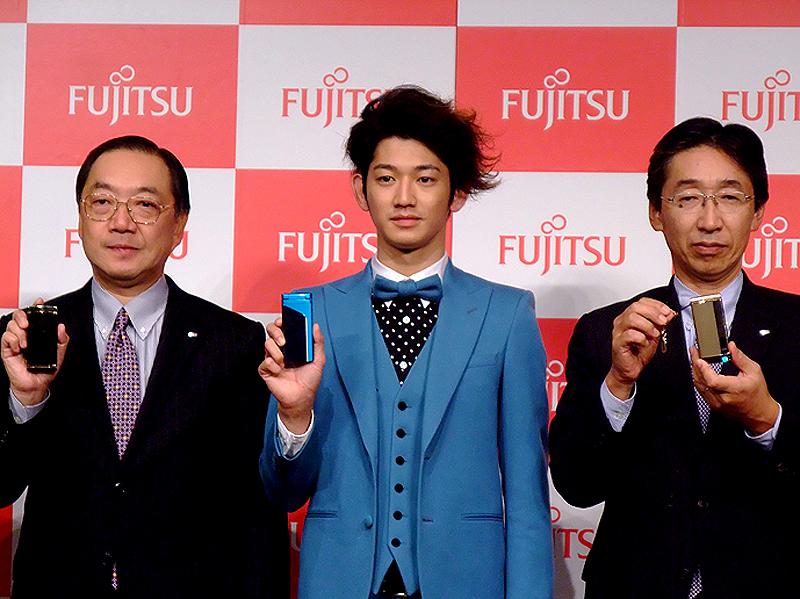 写真左から、佐相氏、瑛太、大谷氏