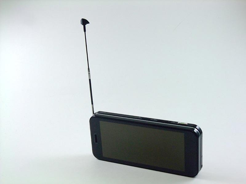 伸縮式のワンセグ用アンテナ