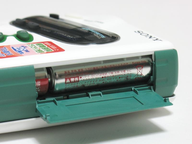 ACアダプタではなく単3電池2本で駆動する